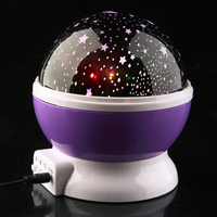 Star Master 360 Degree Rotation Sky Starry Light Multicolor 3d Night Light Projector Star Kids Led Night Light