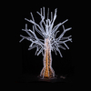Outdoor Lighting Christmas Decoration 3D LED Motif Light Artificial Tree
