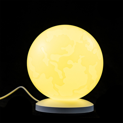 New Design Home Decoration Planet Moon Night Light 3D Print Moon Globe Lamp
