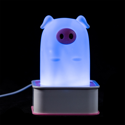 Factory sales inexpensive cute kids baby animal led piggy night light