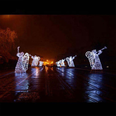 3D Christmas Decoration Angle Street Motif Light