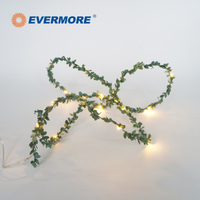 Christmas Indoor Decoration Green Garland LED String Light